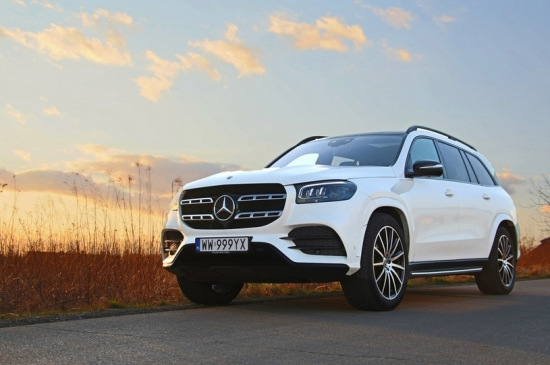MERCEDES GLS 400 D: luxury for the whole family