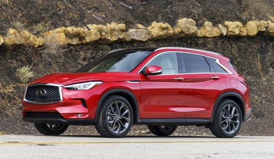 Infiniti introduced the new crossover QX55